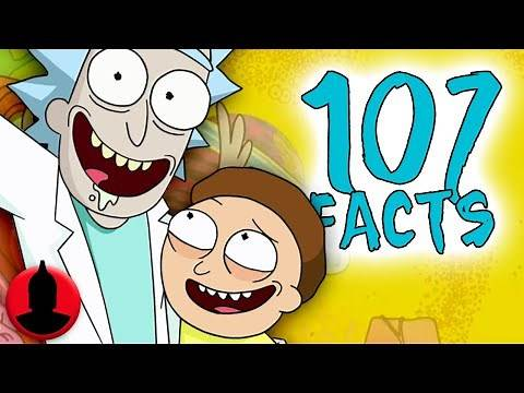 107 Rick and Morty Facts YOU Should Know! Part 2 | Channel Frederator