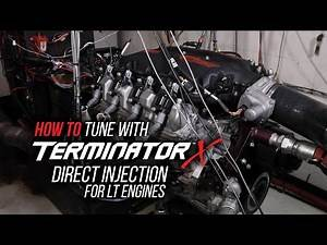 Holley Terminator X Gen V LT: Set Up, Variable Cam Control, and Fuel Strategy Overview