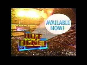 Titan's Hot Ticket PPV | Television Commercial | 1991 | Wrestlemania History & Heroes