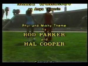 PHYL AND MIKHY Closing Credits Short-lived 1980 CBS SITCOM