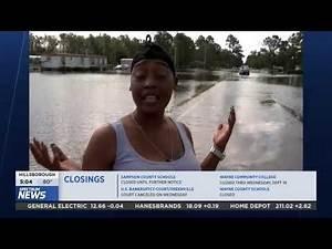 Trenton, NC Hurricane Coverage - PKG
