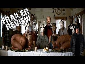 The Farm (2018) Cannibal Horror Trailer review - You ll never eat meat again!!