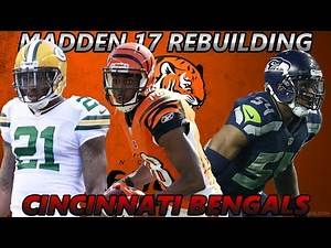 Madden 17 Connected Franchise | Rebuilding The Cincinnati Bengals | AMAZING DRAFT PICK!