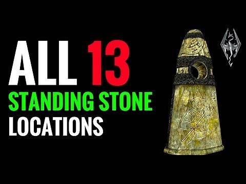 All Standing Stone Locations & What They Do | Skyrim