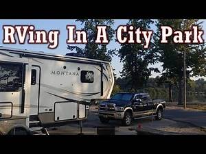RVing in a City Park: Full Time RV Living: Rhino portable waste water tank review