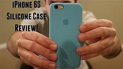 Apple iPhone 6S Silicone Case Review!
