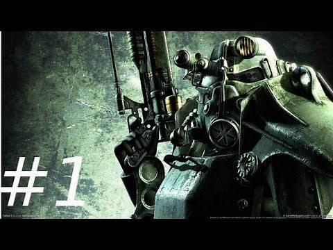 Let's play Fallout 3 Modded Playthrough - Part 1 - Alternative Start(FWE)
