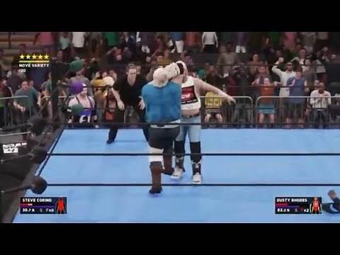DUSTY RHODES vs STEVE CORINO (ECW)
