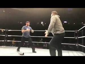 Sami Zayn and Kevin Owens return at wwe live Event after being fired