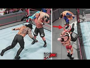 Top 10 Insane Finishers Gone Wrong!! Part 2 | WWE 2K