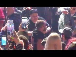 Jon Moxley FULL ENTRANCE - AEW Revolution!!