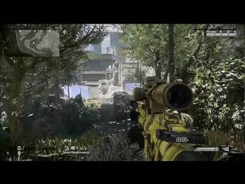 "Best Sniping / Sniper Spots on ""Prison Break"" Call of Duty Ghosts Multiplayer"