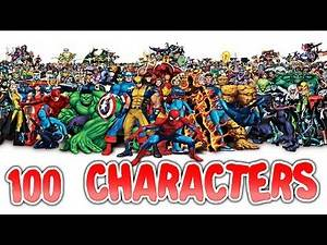 NAME 100 MARVEL CHARACTERS!!!