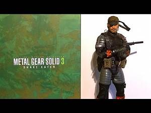 HOT TOYS UNBOXING METAL GEAR SOLID 3 SNAKE 1/6 FIGURE