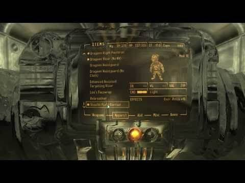 Fallout New Vegas Mods:Reinforced Chinese Stealth Armor