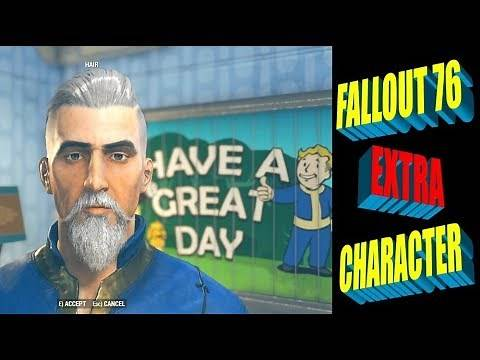 Fallout 76 - Can I Create More than One Character?