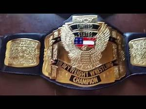 WBC: NEW Belt Day WCW United States Championship Replica Review 99/04 Figures Inc Comparison