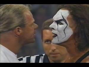 Luger hits Sting (Hogan & Goldberg)
