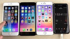 iPhone 6S Plus vs iPhone 7 Plus vs iPhone 8 Plus iOS 11.2.5 Battery Drain Test!