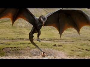 Game of thrones dragon scenes part:1