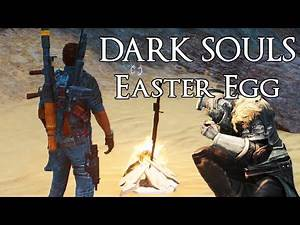 Just Cause 3 - Dark Souls Bonfire Easter Egg