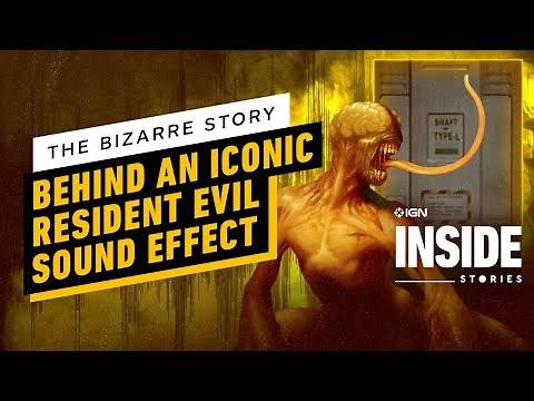 The Bizarre Story Behind an Iconic Resident Evil Sound Effect   IGN Inside Stories