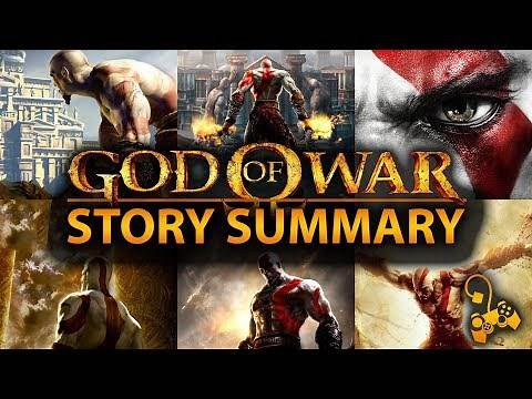 God of War - Original Saga Story Summary - What You Need to Know!