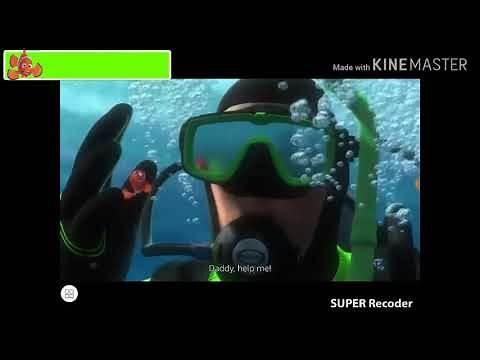 Finding Nemo Divers Scene with healthbars