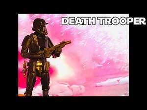 Star Wars The Black Series Imperial Death Trooper (Rogue one,The Mandalorian) Unboxing and Review