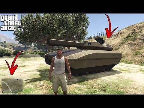 How To Get Khanjali In GTA V Story Mode?(Secret Location!)