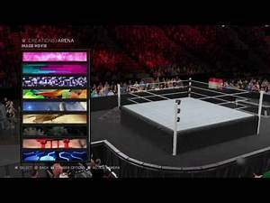 WWE 2K17: HOW TO MAKE ROADBLOCK END OF THE LINE 2016 ARENA!