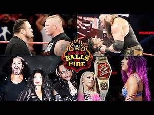 WWE Great Balls of Fire 2017 Full Match Card Predictions
