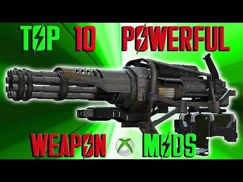 Fallout 4 Top 10 POWERFUL weapon mods