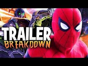Spider Man Homecoming Trailer Breakdown + MCU Sinister Six Explained