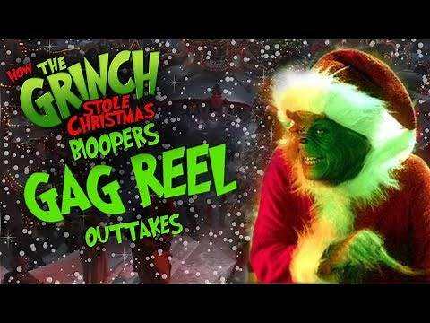 How the Grinch stole Christmas 2000 Movie Bloopers/Gag Reel/Outtakes