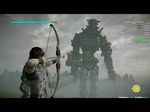 Shadow of the Colossus Speedrun in 1:29:25 (PS4)