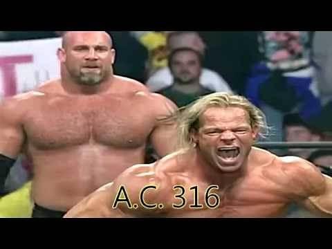 BILL GOLDBERG VS LEX LUGER ON WCW MONDAY NITRO HD