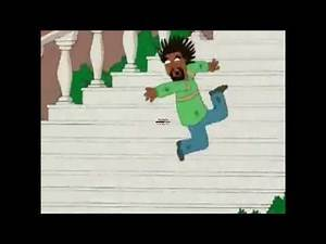 Family Guy - Bobby McFerrin Falls Down Stairs (Normal Speed & Fast Speed)