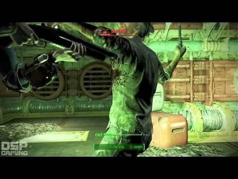 Fallout 4 playthrough pt34 - Malden Middle School Basement is...a Vault?!