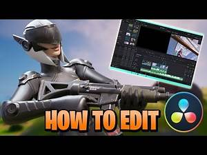 How to Edit a Fortnite Montage in Davinci Resolve - (Glow, Slow-Mo, Demon Face, Intro w/Text, etc.)