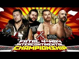 WWE Extreme Rules 2016 - Official And Full Match Card HD (Vintage)