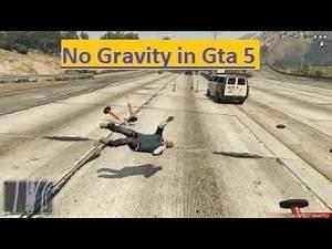 No Gravity in Gta 5