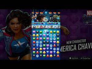 Marvel Puzzle Quest - New Character - America Chavez
