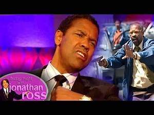 Denzel Washington Gained 40lbs and Loved Every Moment | Friday Night With Jonathan Ross