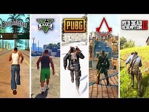 How Big Are GTA Games? (GTA SA vs V vs RDR2 vs AC vs Witcher)