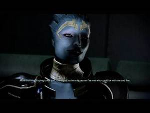 Morinth suprises Shepard...