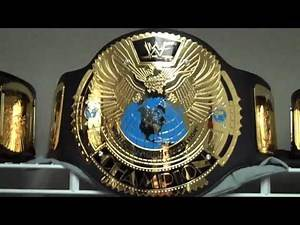 WWE WWF ADULT REPLICA BELT COLLECTION 2010 HD