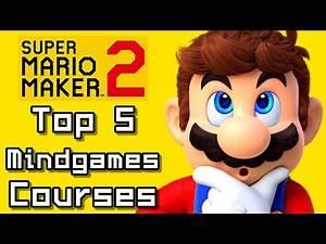 Super Mario Maker 2 Top 5 MINDGAMES COURSES (Switch)