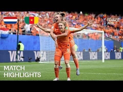 Netherlands v Cameroon | FIFA Women's World Cup France 2019 | Match Highlights