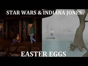 Star Wars & Indiana Jones (Adventure Game Easter Eggs Part 2)